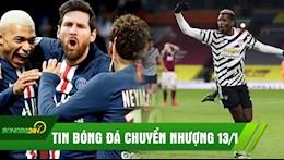 Tin chuyen nhuong 13/1: Pogba toa sang, MU len ngoi dau; PSG chiu thua vu Messi