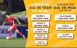 CLB Viettel mo ban ve tro lai tai V-League 2021