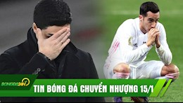 TIN BONG DA CHUYEN NHUONG 15/1: Real nhan trai dang truoc Bilbao; Arsenal bi cam chan trong tran dau nhat nhoa