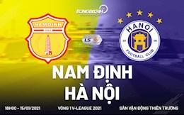 Thang to Ha Noi tai chao lua Thien Truong, Nam Dinh khoi dau V-League 2021 day my man