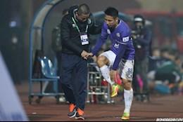 Bo ba Qua bong vang mat hut trong tran thua 0-3 cua Ha Noi FC