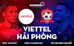 Nhan dinh Viettel vs Hai Phong (19h15 ngay 16/1): Nha vua thi uy suc manh?