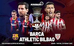 Thua nguoc dau don trong ngay Messi an the do, Barca mat Sieu cup TBN 2020 vao tay Bilbao