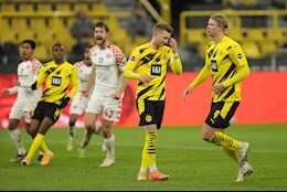 Video tong hop: Dortmund 1-1 Mainz (Vong 16 Bundesliga 2020/21)