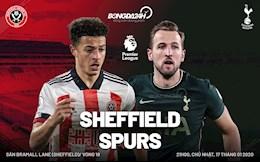 Thang thuyet phuc Sheffield, Tottenham tam thoi chen chan vao Top 4