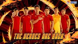 Trailer công bố mẫu áo chính thức 2021 cho các ĐT bóng đá Quốc Gia Việt Nam
