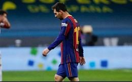 "Messi chi bi ""danh khe"" sau hanh vi bao luc"