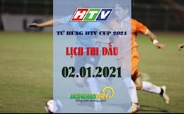 Lich thi dau va truc tiep Cup Tu Hung HTV hom nay 2/1: Ngoi vuong thuoc ve ai?
