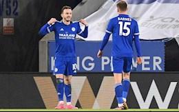Video bong da Leicester vs Chelsea: Lampard lam nguy
