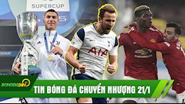TIN CHUYEN NHUONG BONG DA 21/1: PSG mua Sieu tien dao; Man United vung chac ngoi dau; Juventus vo dich sieu Cup