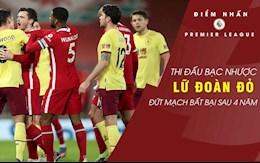 Điểm nhấn Liverpool 0-1 Burnley: Màn trình diễn đáng thất vọng của hàng công