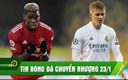 TIN BÓNG ĐÁ CHUYỂN NHƯỢNG 23/1: Arsenal chiêu mộ thành công sao Real; Pogba quyết không rời MU