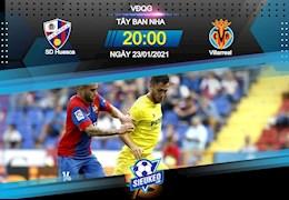 Nhan dinh bong da Huesca vs Villarreal 20h00 ngay 23/1 (La Liga 2020/21)