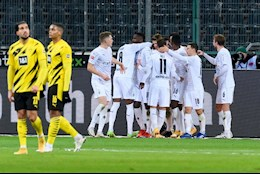 Sieu Haaland lap cu dup, Dortmund van thua sap mat Gladbach