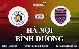 Trực tiếp bóng đá Việt Nam vòng 2 V-League: Hà Nội vs Bình Dương sôi động Hàng Đẫy