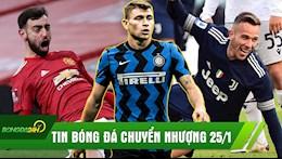 TIN BONG DA CHUYEN NHUONG 25/1: Barca mua Busquets 2,0; MU ha dep Liverpool; Juve lam goi Bologna