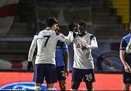 Video tong hop: Wycombe 1-4 Tottenham (Vong 4 FA Cup 2020/21)