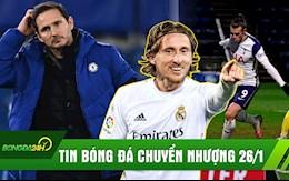 TIN BONG DA CHUYEN NHUONG 26/1: Spurs ha doi yeu; Real chot tuong lai sao bu
