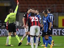 """""""Bi kịch mang tên Ibrahimovic"""" khiến AC Milan thua đau Inter ở Coppa Italia"""