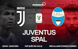 Nhận định bóng đá Juventus vs Spal 2h45 ngày 28/1 (Serie A 2020/21)
