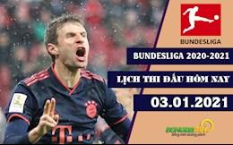 Lich thi dau bong da Duc Bundesliga 2020/21 hom nay 3/1