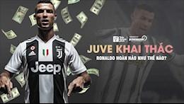 Juventus da khai thac hinh anh Ronaldo hieu qua nhu the nao?