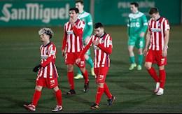 Atletico Madrid thua soc doi hang 3 ngay vong 2 cup Nha vua TBN