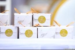ẢNH: Thú vị hộp quà nhỏ trong đám cưới Bùi Tiến Dũng tại Bắc Ninh