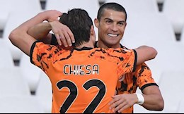 Federico Chiesa toa sang truoc AC Milan nho Ronaldo?