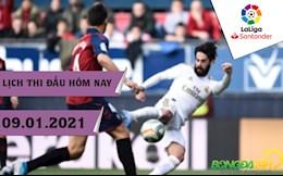 Lich thi dau La Liga dem hom nay 9/1: Atletico cham tran Bilbao