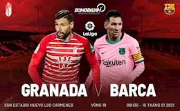Messi lai choi sang, Barca de bep Granada