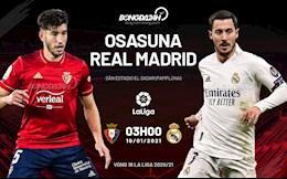 Bạc người vì mưa tuyết, nhà ĐKVĐ Real Madrid đành chia điểm thất vọng với Osasuna