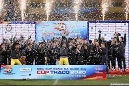 ẢNH: Kỷ niệm 15 năm, Hà Nội FC giành danh hiệu đầu tiên trong năm 2021