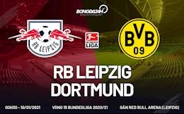 Nhan dinh bong da Leipzig vs Dortmund 0h30 ngay 10/1 (Bundesliga 2020/21)