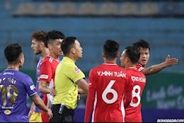 Tình huống Viettel bị từ chối penalty trước Hà Nội FC