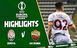 Video Zorya vs AS Roma Europa Conference League 2021: Nhẹ nhàng 3 điểm