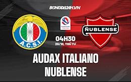 Nhận định, soi kèo Audax Italiano vs Nublense 4h30 ngày 16/10 (VĐQG Chile 2021)