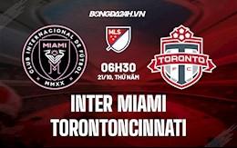 Nhận định, dự đoán Inter Miami vs Toronto 6h30 ngày 21/10 (Nhà Nghề Mỹ 2021)