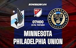 Nhận định, dự đoán Minnesota vs Philadelphia Union 7h00 ngày 21/10 (Nhà Nghề Mỹ 2021)