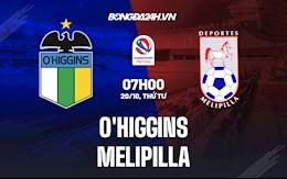 Nhận định, soi kèo O Higgins vs Melipilla 7h00 ngày 16/10 (VĐQG Chile 2021)