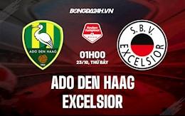 Nhận định, dự đoán ADO Den Haag vs Excelsior 1h00 ngày 23/10 (Hạng 2 Hà Lan 2021/22)