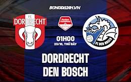 Nhận định bóng đá Dordrecht vs Den Bosch 1h00 ngày 23/10 (Hạng 2 Hà Lan 2021/22)