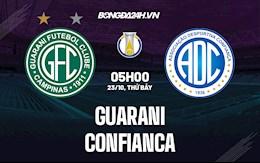 Nhận định, soi kèo Guarani vs Confianca 5h00 ngày 23/10 (Hạng 2 Brazil 2021)