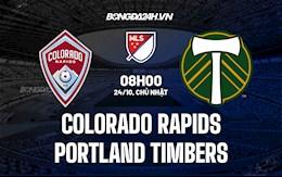 Nhận định Colorado Rapids vs Portland Timbers 8h00 ngày 24/10 (Nhà Nghề Mỹ 2021)