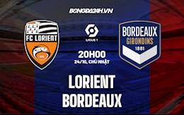 Nhận định bóng đá Lorient vs Bordeaux 20h00 ngày 24/10 (Ligue 1 2021/22)