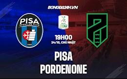 Nhận định bóng đá Pisa vs Pordenone 19h00 ngày 24/10 (Hạng 2 Italia 2021/22)