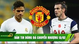 TIN BÓNG ĐÁ CHUYỂN NHƯỢNG 13/02: MU vung tiền tấn mua Varane; Bale cầu cứu Mourinho