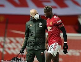 MU không chắc về thời điểm Paul Pogba bình phục chấn thương