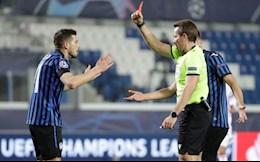 2 quyet dinh gay tranh cai cua trong tai o tran Atalanta 0-1 Real Madrid