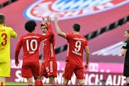 De bep Cologne, Bayern Munich mung sinh nhat tung bung